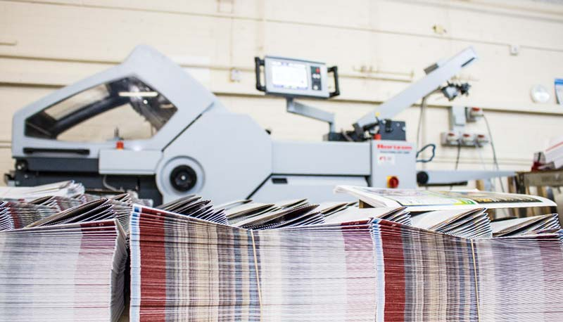 Print folding services