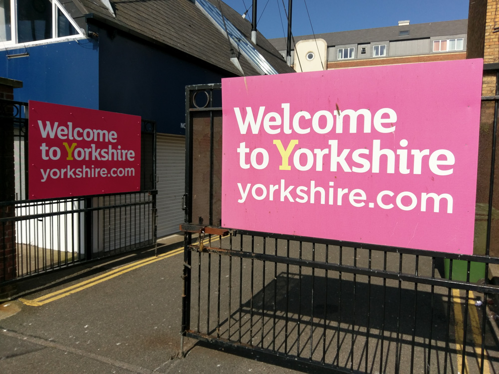 Welcome To Yorkshire Signage Adverset