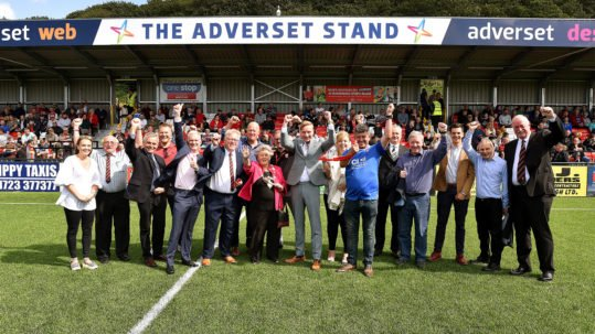 Adverset SAFC Stand Opening Day