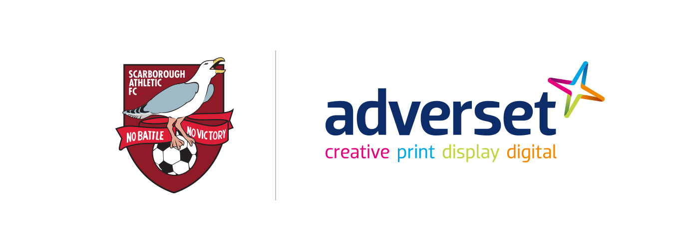 Adverset sponsors Scarborough Athletic FC