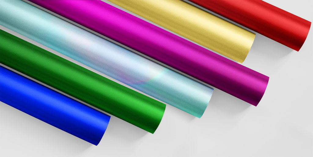 Colour foil rolls