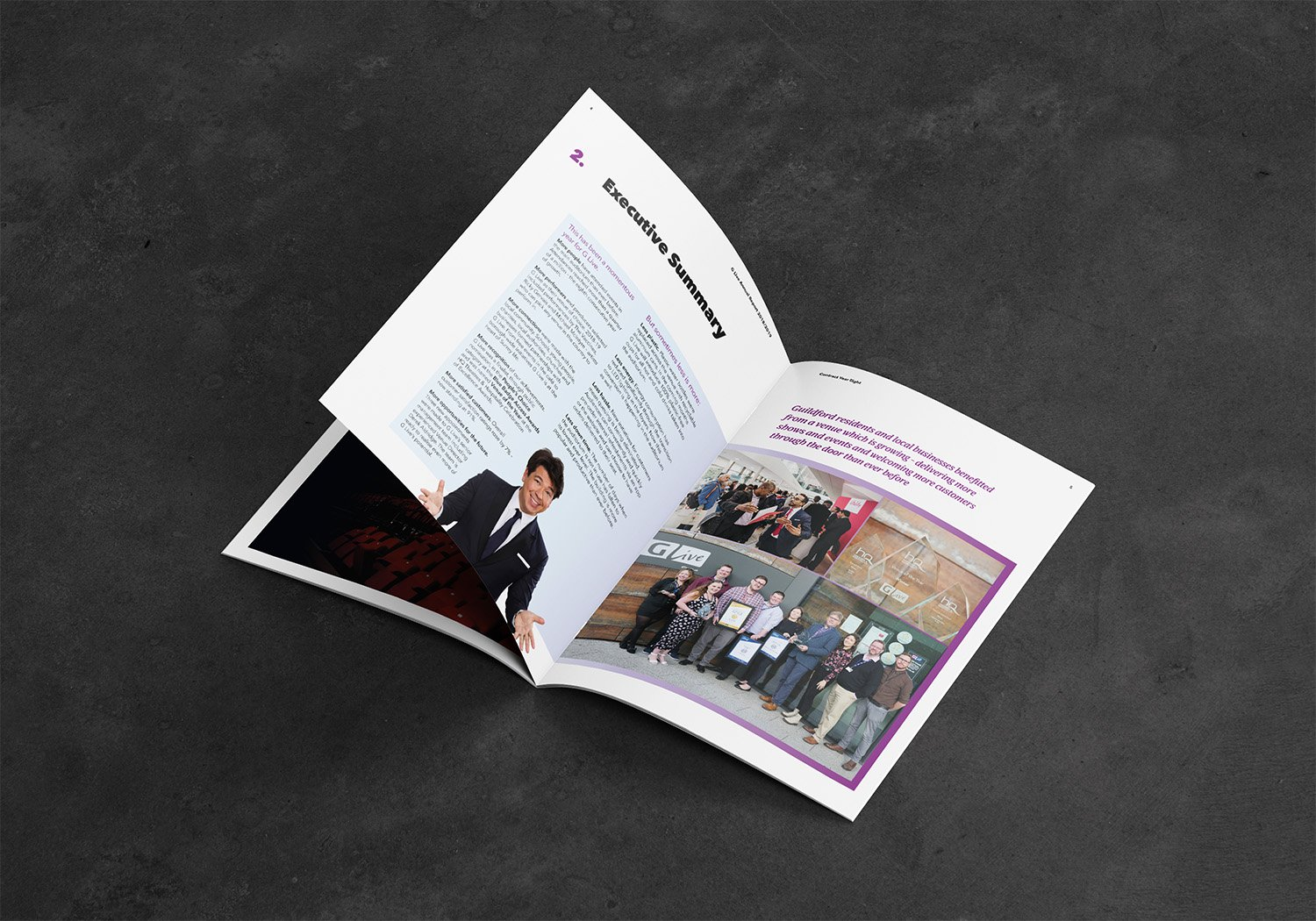 GLive Annual Report Inside View