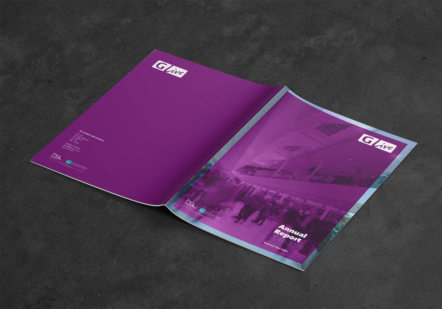 GLive Annual Report Outside